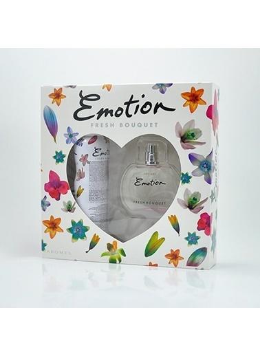 Emotion  Fresh Edt 50Ml+Deo150Ml Kadın Parfüm Set Renksiz